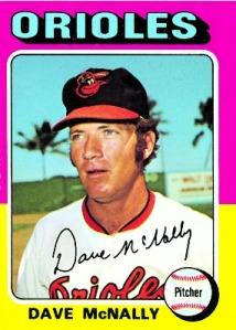 Dave McNally 1975