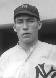 Jack Warhop pitched for the New York Yankees/Highlanders from 1908-1915.