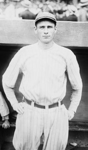 Wally Pipp played 15 seasons in the major leagues from 1913-1928.
