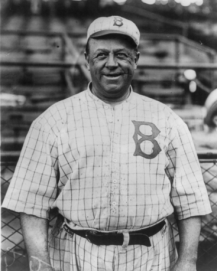 Wilbert Robinson was inducted into the Baseball Hall of Fame in 1945.