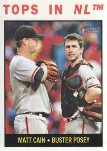 matt cain and buster posey 2013