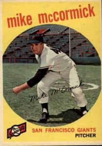 mike mccormick 1959