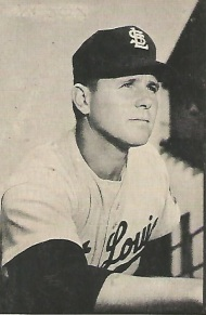 Virgil Trucks with the St. Louis Browns on his 1953 Bowman baseball card.