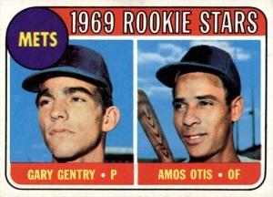 1969 mets rookies gary gentry and amos otis