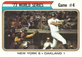 Rusty Staub knocked in five runs for the New York Mets in the fourth game of the 1973 World Series.