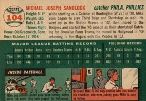 mike sandlock 54 back